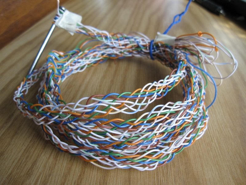 Wire Braiding | Braided Ribbon Cable New Textiles 2011
