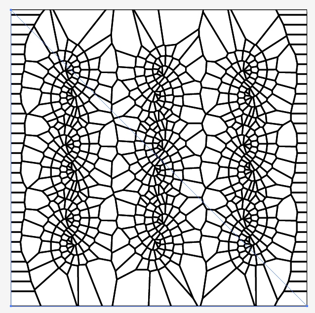 voronoi diagram tutorial   new textiles 2012