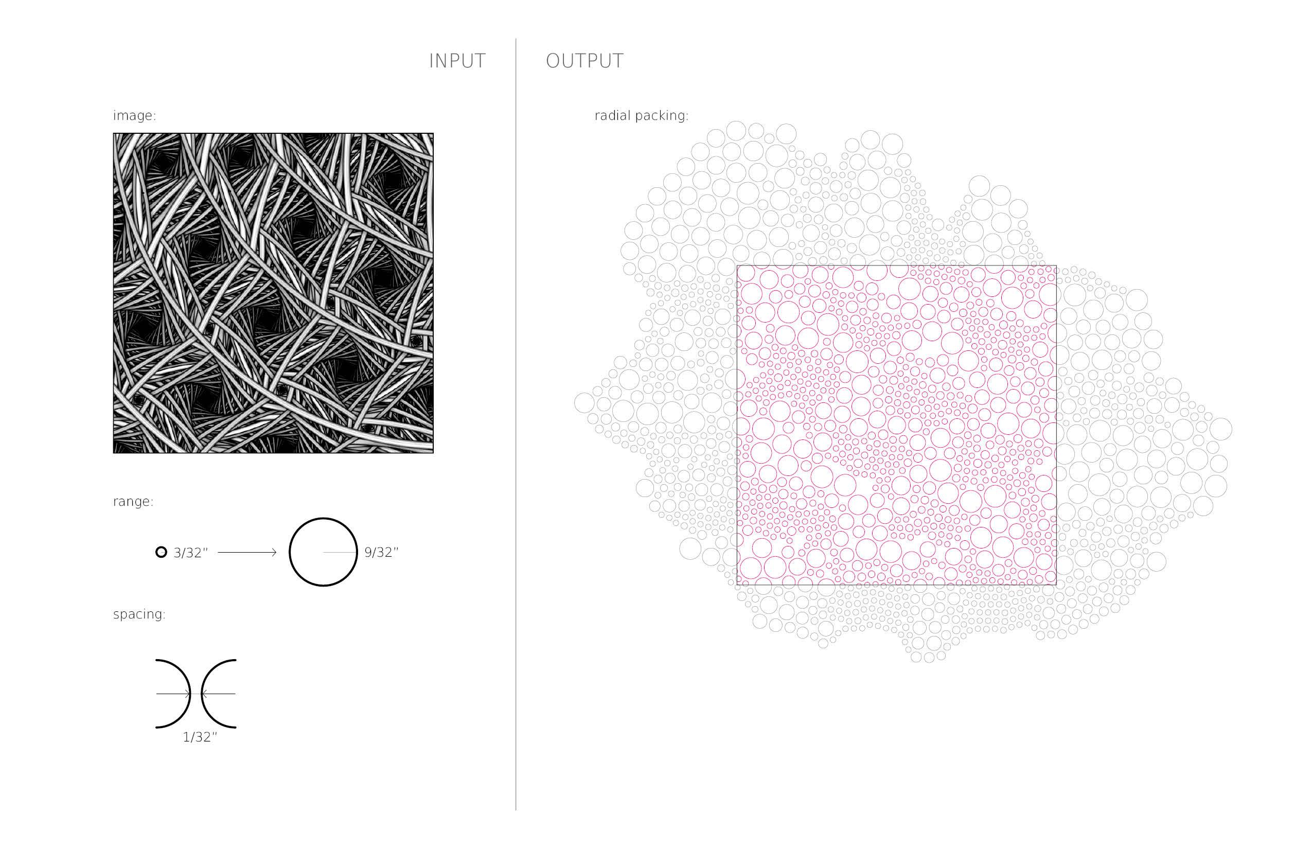 Image Based Circle Packing : New Textiles 2012