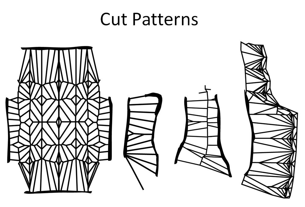 laser cut vest   new textiles 2012