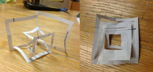 Folded Abstract Sqaure