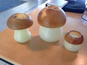Mushroom-candles