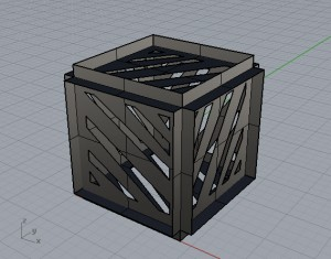 Paper Box Render