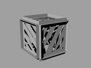 Paper Box Rendered