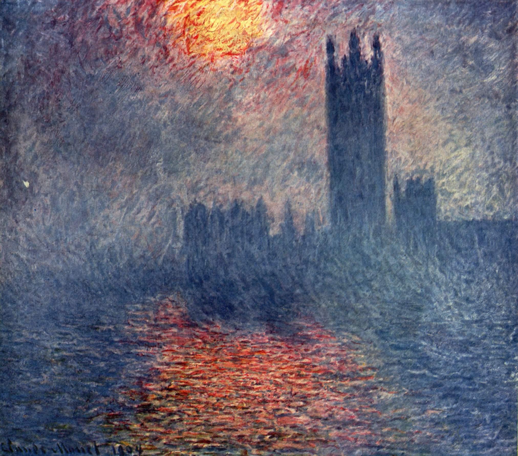 Parlament in London Claude Monet (1840-1926)