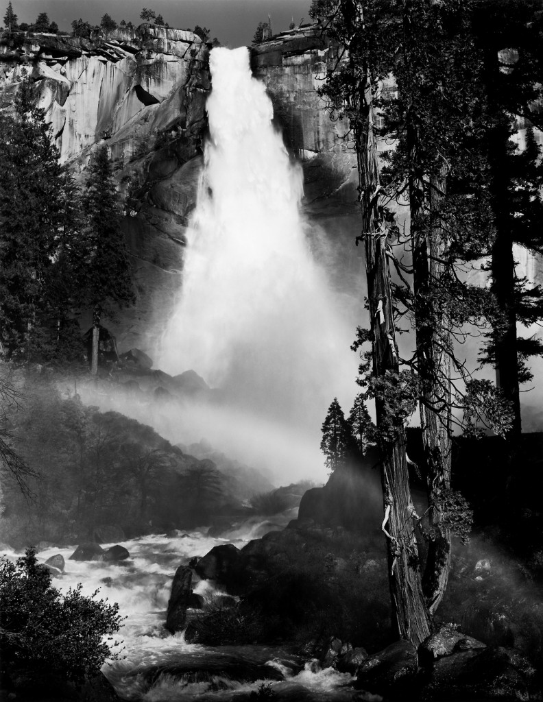 ansel_adams_nevada_fall