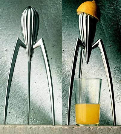 """Juicy Salif"", by Philippe Starck for Alessi, Italy 1990."