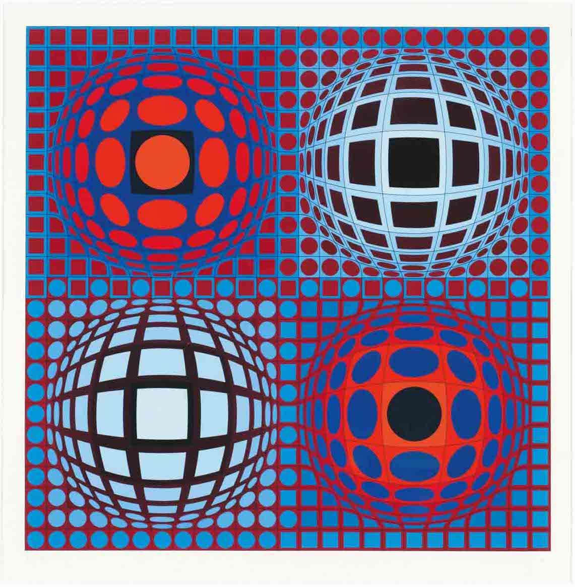 vasarely coloring pages - photo#9